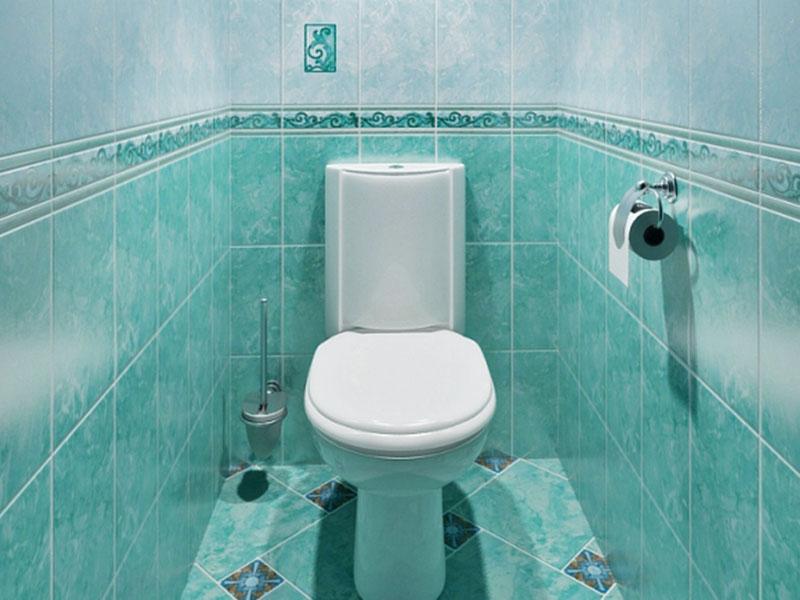 кафель в туалете