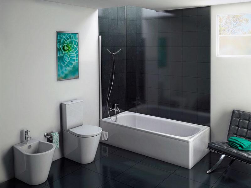 подсоединение ванны