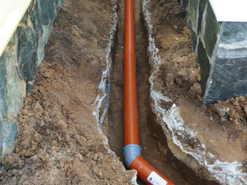 установка системы канализации